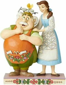 Disney Traditions Beauty and the Beast Devoted Daughter Figure Jim Shore New Box