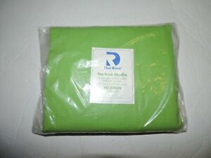 Vintage Selected Seconds Double  fitted sheet  Green