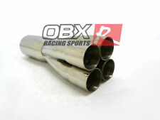 "OBX 4-1 Universal Exhaust Merge Collector Primary 2 3/8"" ID 4 1/2"" 4.5"" OD Out"