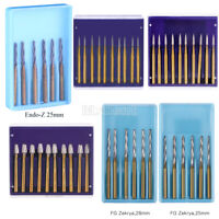 Dental Surgical Trimming/Finishing Bur Tungsten Carbide Friction For High Speed