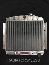 "BLEM 2 ROW 1 1/4"" TUBES ALUMINUM RADIATOR 55 56 CHEVY BEL AIR 6CYL CORE SUPPORT"