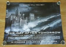 THE DAY AFTER TOMORROW ORIGINAL 2004 CINEMA UK QUAD FILM POSTER ROLLED WAVE