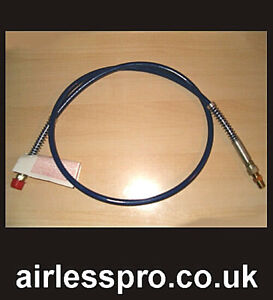 Airless Paint Sprayer Whip Hose 3300psi select size.
