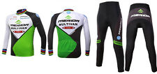 MERIDA spring and summer long-sleeved jersey suits bicycle clothing suits GREEN
