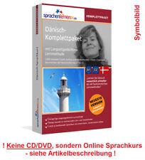 Curso de idiomas aprender danés paquete completo curso en línea vocabulario entrenador de audio