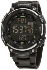 Armitron Sport Men's 40/8254BLK Black Digital Chronograph Watch, New