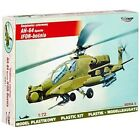 Model Helicopter Military MIRAGE AH-64 72052 Scale 1-72 Apache Ifor-Bosnia