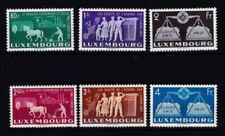 Echte Briefmarken aus Luxemburg mit Geschichts-Motiv