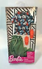 2019 Barbie KEN doll COMPLETE LOOK Fashion Pack FLORAL TEE JOGGERS SANDALS *NEW*