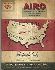 Airo Supply Company Catalog Refrigeraton and Air Conditioning Supplies