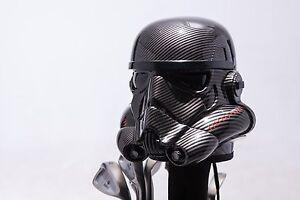 Carbon Fiber Painted StarWars Stormtrooper 460cc Golf Headcover