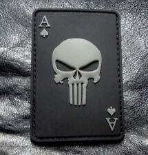 DEAD MAN'S HAND ACES DEAD CARD PATCH BY MILTACUSA (3D PVC-3.0 X 2.0 DC1)