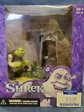 2001 Shrek The Outhouse Action Figure with Original Box. Ogre. McFarlane Toys