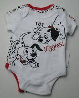 3-6M BABY DISNEY 2 PACK BODYSUIT 101 DALMATIANS 0-3M NEW 12 MONTH