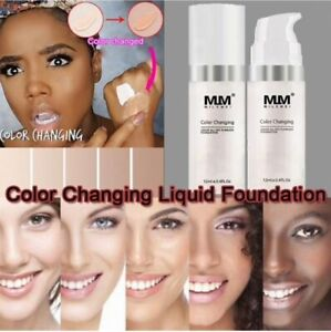 Magic Flawless Colour Color Changing Foundation MLM Makeup Change Skin Tone