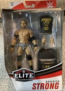 WWE Mattel Elite Series 72 Roderick Strong Wrestling Figure- New in Box