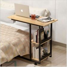 Bed Desk Laptop Table Notebook Portable Movable Tray Holder 2 Layers