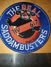 'The Real Saddambusters' Tornado 617 Dambusters Gulf War Patch  (ref box5)