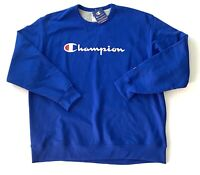 Champion Athletic Pullover Blue Sports Sweater Mens Size 2XL New With Tags NWT