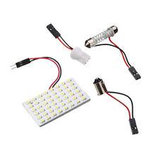 1xWhite T10 1210 12V Festoon LED 48SMD Car Interior Panel Lights Dome Lamp Bulb