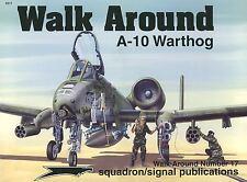 A-10 Warthog Walk Around Vol. 17 by Ken Neubeck (1999, Paperback) Rare HTF