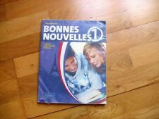 Bonnes Nouvelles 1 First Year French textbook in Ireland great condition