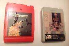 "ARETHA FRANKLIN ""AMAZING GRACE"" 8 TRACK SOUL 1972 GOSPEL FUNK SOUL LOT OF 2"