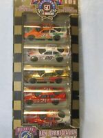 50TH ANNIVERSARY SET 6 OF 8 NASCAR GIFT PACK 1/64 DIECAST RACING CHAMPIONS