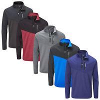 2019 Stuburt Mens Evolve Extreme Half Zip Fleece - Golf Pullover Top Jumper Warm
