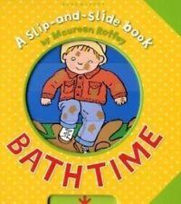 New, Bathtime (Slip-and-Slide Book), Maureen Roffey, Book