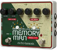 Electro-Harmonix MT-550 Deluxe Memory Man 550-TT Analog Delay with Tap Tempo!