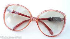 Sonnenbrille riesige Form hellgrün Verlaufglas Shoppingbrille Safilo GR:L 70er