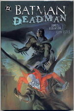 BATMAN DEADMAN DEATH AND GLORY HARDBACK GRAPHIC NOVEL FIRST PRINT