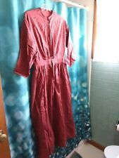 Vintage Costume Reenactment Womans Long Dress Colonial Style Sz Med/Lg