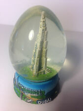 Dubai Snow egg with Khalifa tower (tallest tower in the world) inside