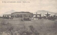 USA EL Paso and Southwestern Station Tucson Arizona Rasmessen Postcard 07.16