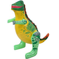 Dinosauro Gigante Gioco Gonfiabile in PVC Giocattoli Bambino 50*24CM