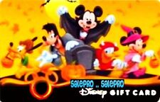DISNEY MAGIC KINGDOM 2009 HALLOWEEN PARTY NIGHT PUMPKIN COLLECTIBLE GIFT CARD