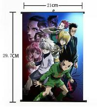 "Hot Japan Anime Hunter X Hunter Cosplay Home Decor Wall Scroll Poster 8""x12"" 017"
