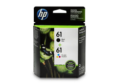 HP 61 Black Ink Cartridge (CH561WN), Tri-Color Ink Cartridge (CH562WN) 2 ink