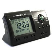 Automatic Islamic Azan Alarm Table Clock Muslim Athan Adhan Qibla Salah New