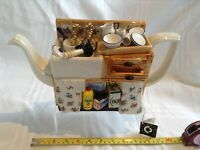 CARDEW LARGE NOVELTY TEAPOT THE KITCHEN SINK IN  GREAT CONDITION LTD EDITION
