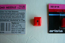 Turntable Replacement Needle - Stylus New Arista - Panasonic EPS 75ST