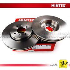 2X Mintex Disques de frein avant MDC1083 pour Renault Clio Kangoo Laguna Megane Scenic