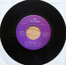 "SPOOKY AND SUE Swinging On A Star US 7"" All Platinum AP 2353 NMINT 1974"