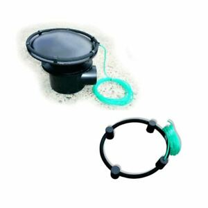 CLOVERLEAF WEIGHTED AIR RINGS 250m/300m KOI FISH POND WATER RING AERATION DRAIN