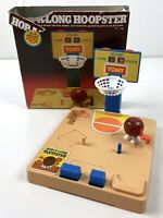 Vintage Hop-A-Long Hoopster TOMY 1987 Wind-Up Basketball Complete *Doesn't Wind