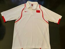 Nike Men's 2008 Beijing Olympics Team Issued China Basketball Polo Golf Shirt