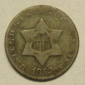 .1852 Three Cent Silver Piece Take a Look