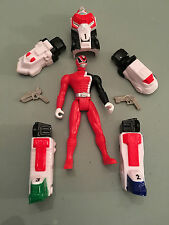 Power Rangers SPD Red armour ranger 100% complete 10cm toy